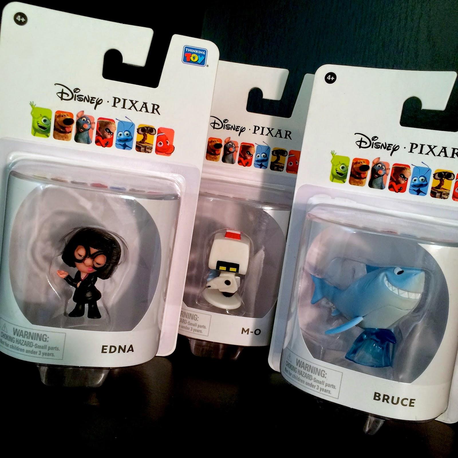 Dan The Pixar Fan: Pixar Collection: Mini Figurines PAGE