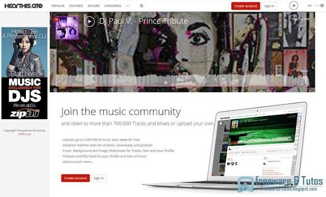 Hearthis.at : pour écouter et partager la musique en ligne