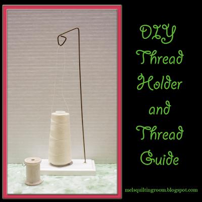 diy cone thread holder