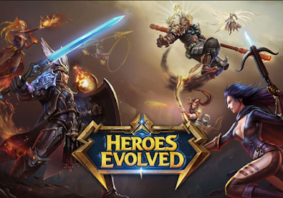 Download Heroes Evolved Mobile Mod Apk + Data For Android