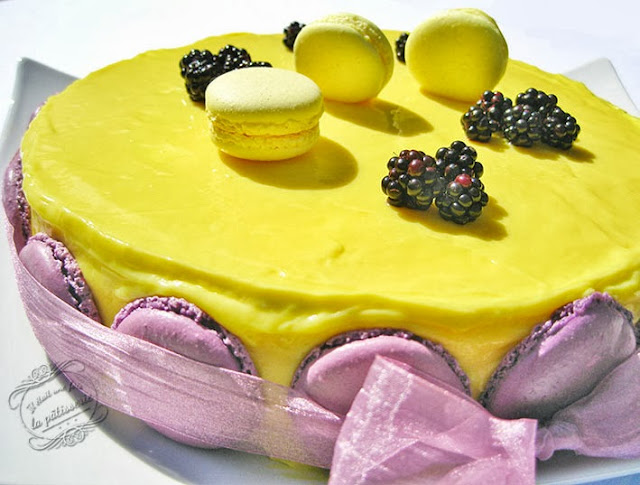 dessert : entremets mures citron