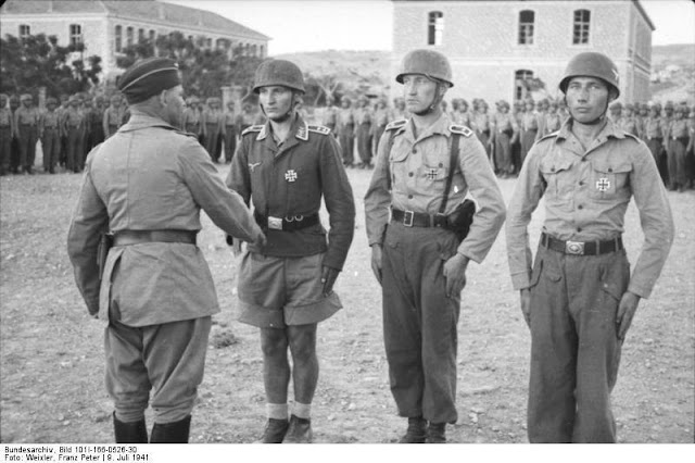 General Ramcke at Crete, 9 July 1941 worldwartwo.filminspector.com