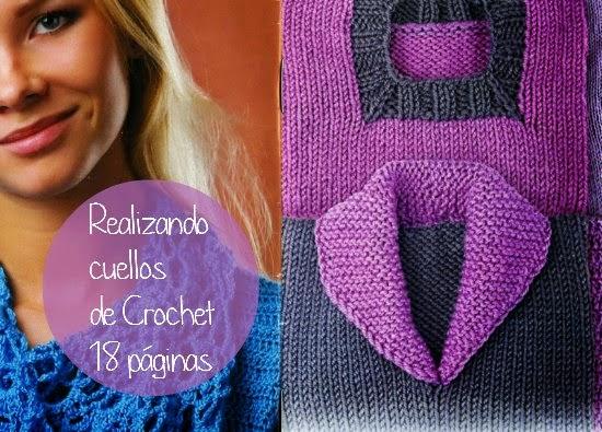 Cuellos Tejidos con Crochet o en Tricot