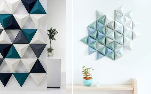 Marzua el tri ngulo en la decoraci n de interiores for Como alisar paredes irregulares