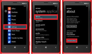 Fungsi utama Melakukan soft reset dan hard reset di nokia lumia ialah Cara Praktis Melakukan Soft Reset Dan Hard Reset Nokia Lumia