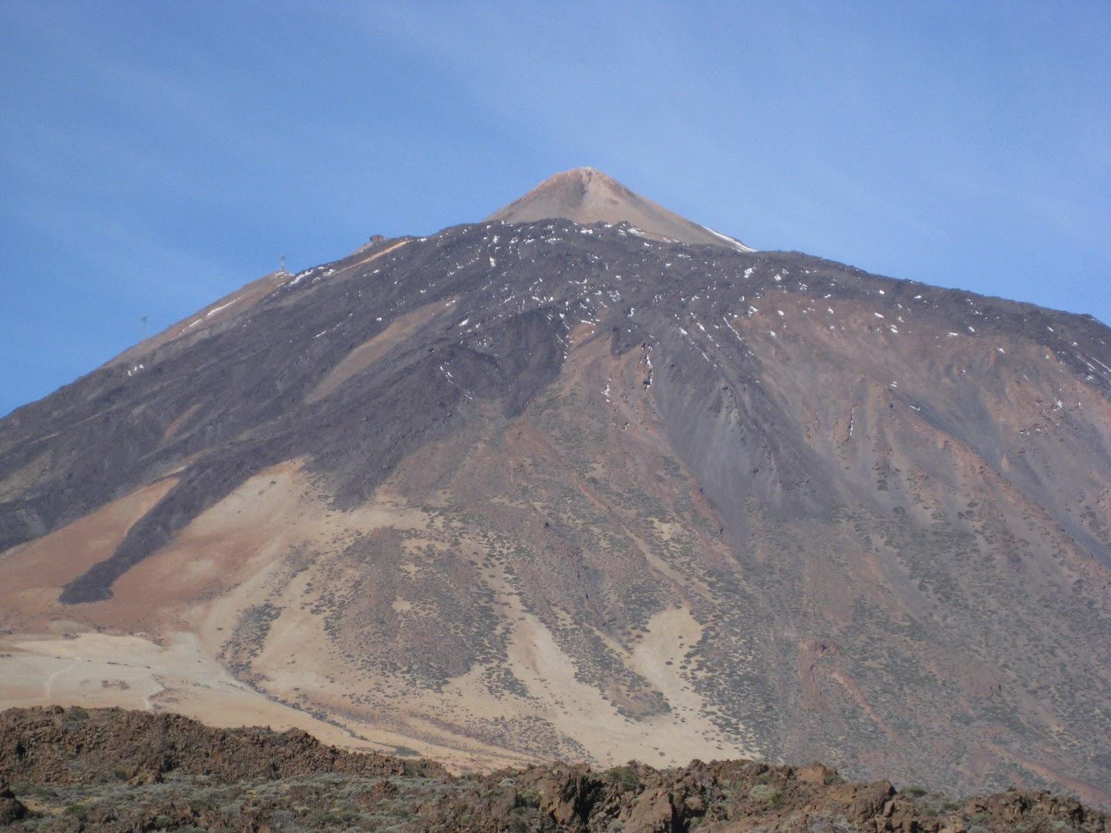 The Hikemasters' Trail Descriptions: Teide Volcano Caldera ...