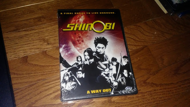RightStuf Anime $1 Blind box - Shinobi DVD 4