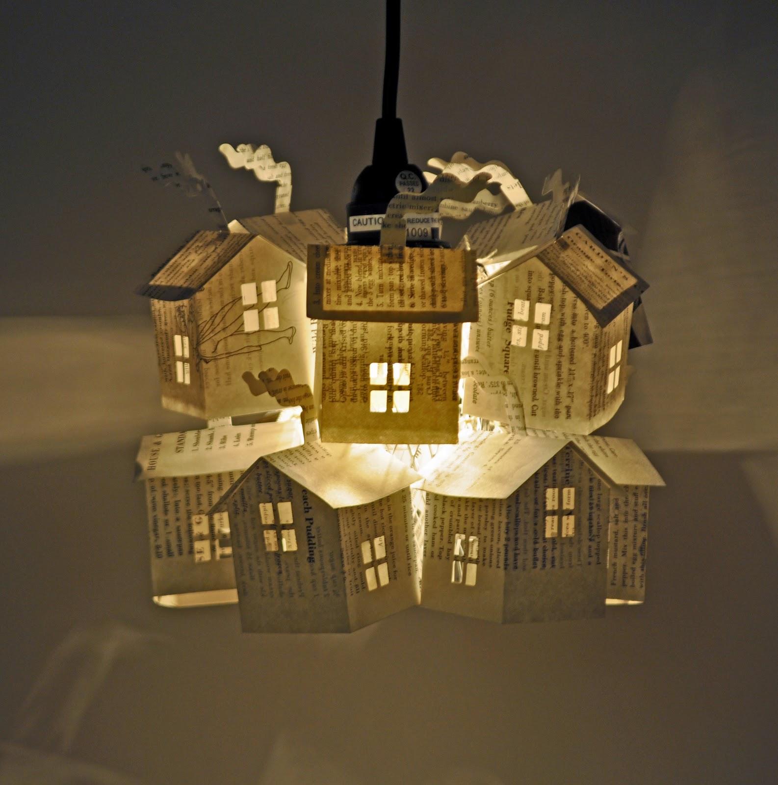 Light For House: Hutch Studio: Paper House Light Workshop