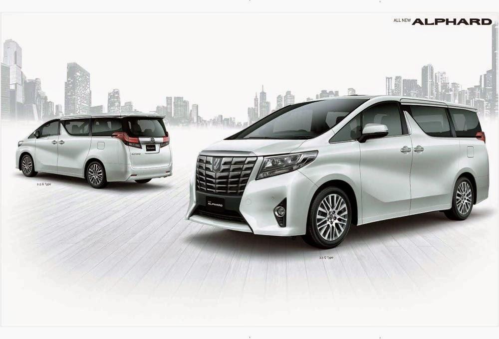 Toyota New Alphard 2015