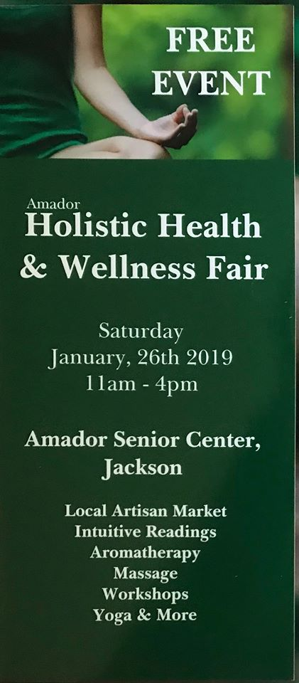 2019n Holistic Health & Wellness Fair - Sat Jan 26