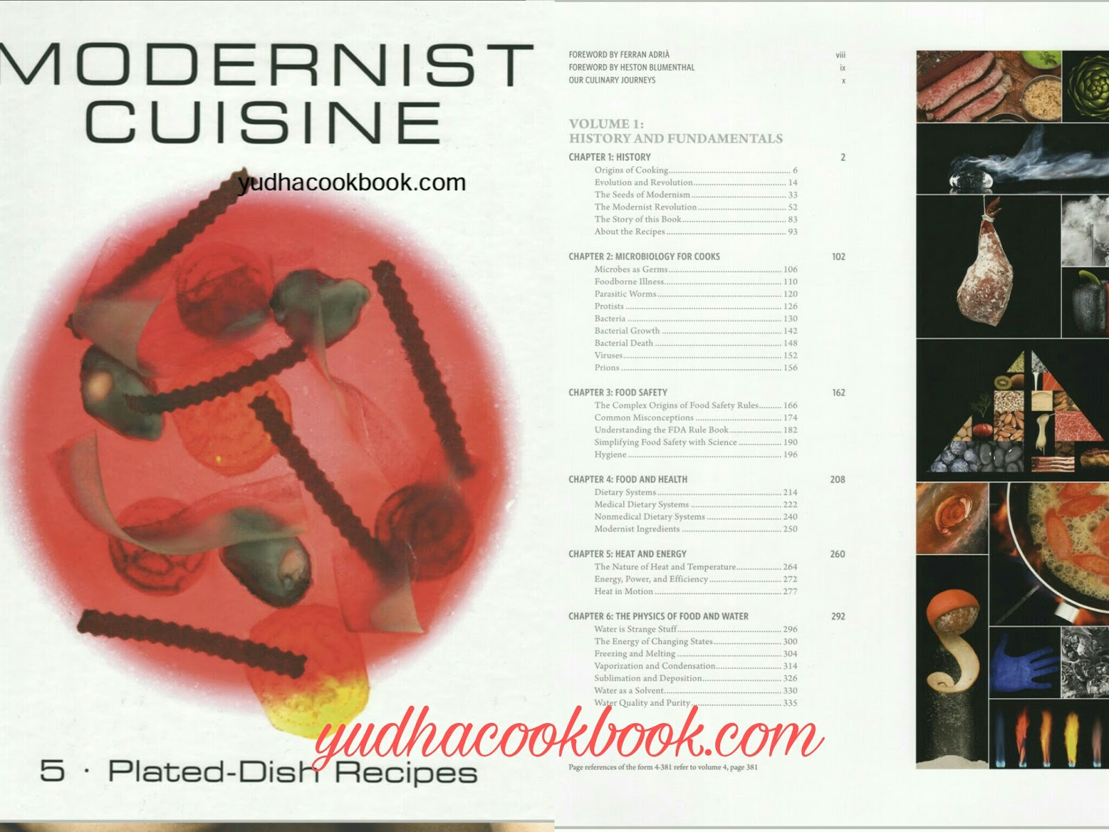MODERNIST CUISINE [VOLUME 5] - PLATED, DISH RECIPES | YudhaCookBook