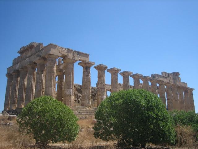 Templo E del Baglio Florio de Selinunte