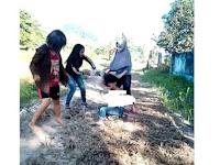 Viral, Video Pengeroyokan Terhadap Seorang Gadis di Pinrang