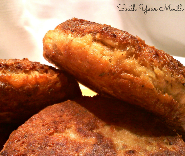Dish Salmon Croquettes: South Your Mouth: Salmon Patties