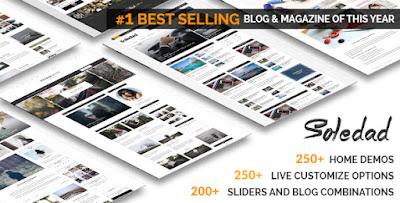 Soledad - Multi-Concept Blog/Magazine WP Theme Free Download