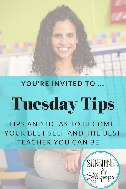 It is almost time for school to start and if you live in the south, you just might be back in school already. So with school starting or almost starting, you just might find these Tuesday Tips for Back to School helpful as you start back to greet those smiles and hear the chatter and giggles!