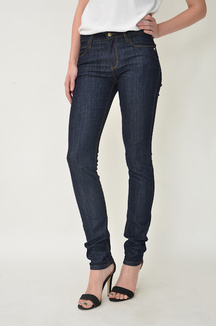 Peanut Skinny Dark Denim Photo courtesy of Monkee Genes.