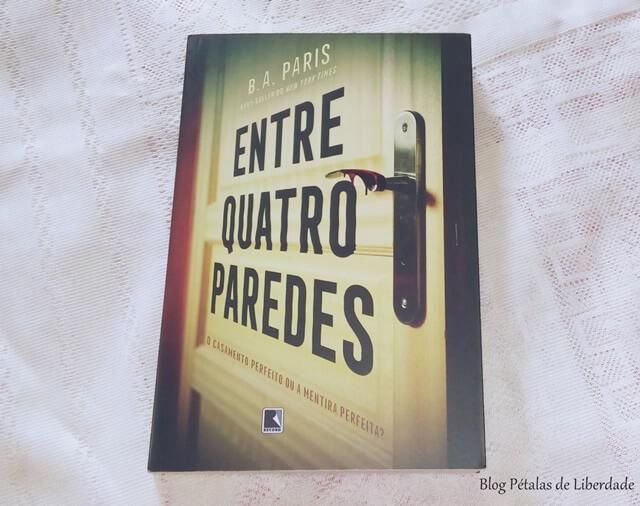 """Resenha: livro """"Entre quatro paredes"""", B. A. Paris"""