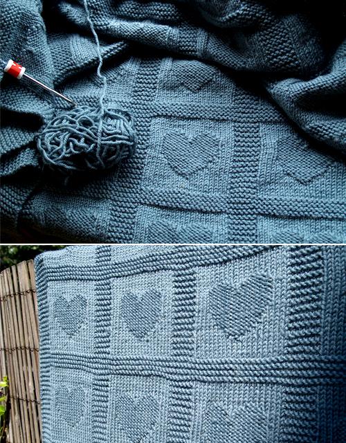 Heart Baby Blanket - Free Pattern