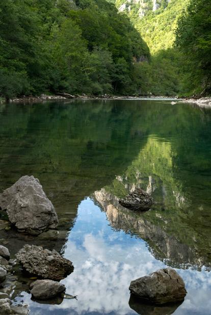 Река Тара, север Черногории
