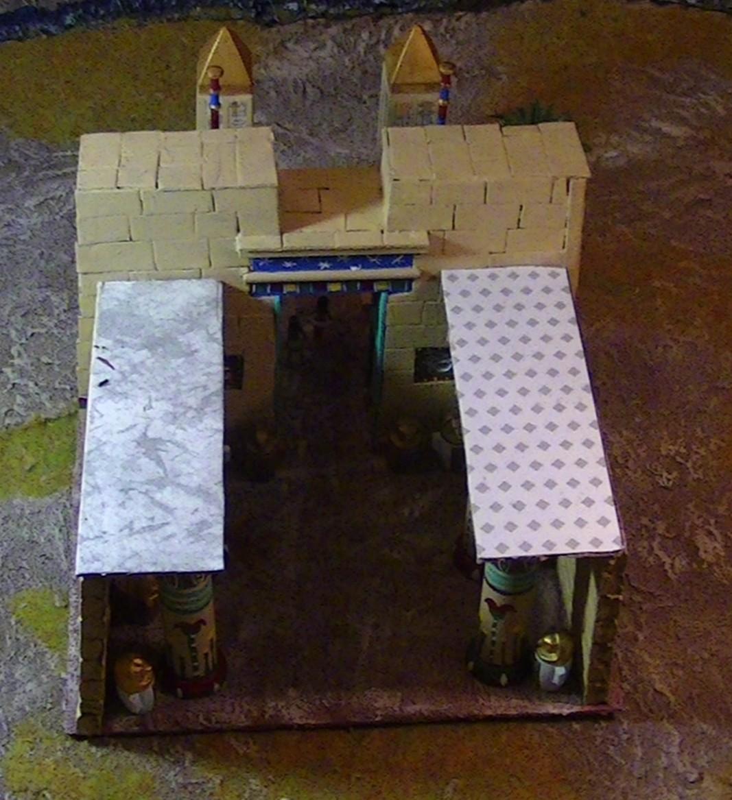 [WIP] Fabrication d'un second bâtiment égyptien du nouvel empire PIC_4750