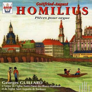 Homilius : Pièces pour orgue