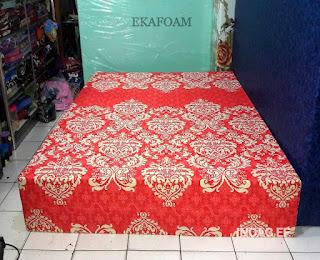 Kasur inoac motif batik pandawa merah