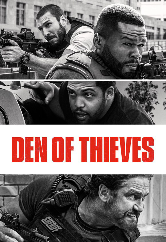 Den of Thieves [2018] [DVDR] [NTSC] [Unrated] [Latino]