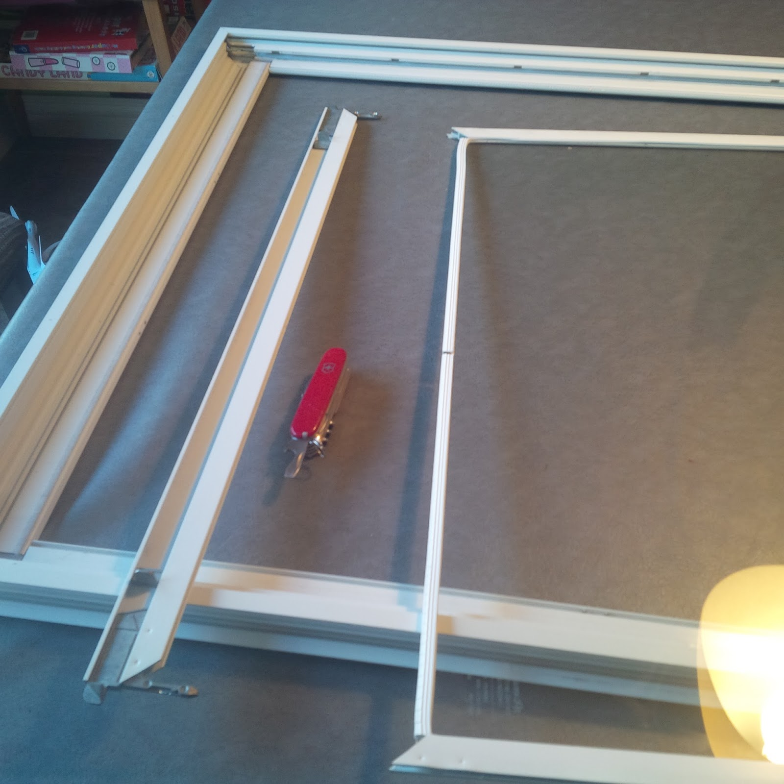 Another Day Another Project Fixing Storm Door