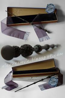 Harry Potter Czarna Róźdżka Insygnia Śmierci Replika Noble Colection  2