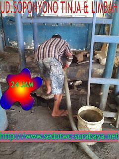 Sedot WC Sidotopo Surabaya, Call 081217744287