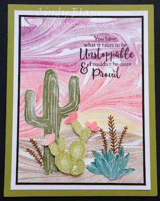 Flowering Desert, Heart's Delight Cards, Occasions 2019, Stampin' Up!