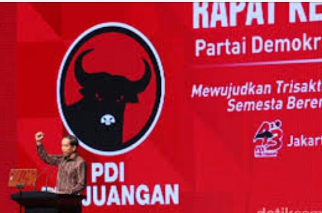 Jika Sukses Bawa Perubahan, PDIP akan Usung Jokowi di Pilpres 2019