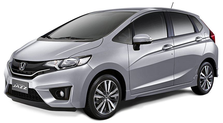 Honda Jazz in Lunar Silver Metallic