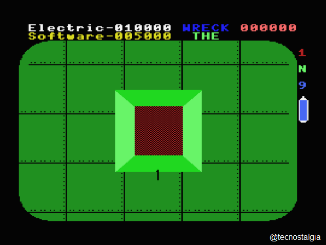 8 Bits Wiki: The Wreck Electric Software 1984 (MSX)
