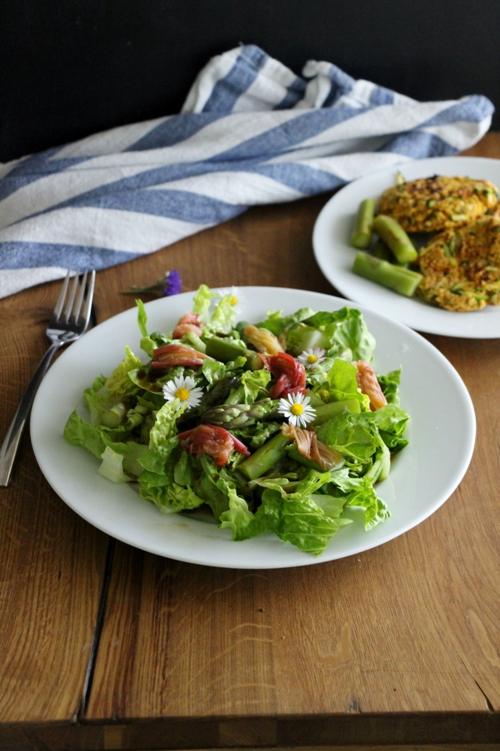Rhabarber - Spargel - Salat
