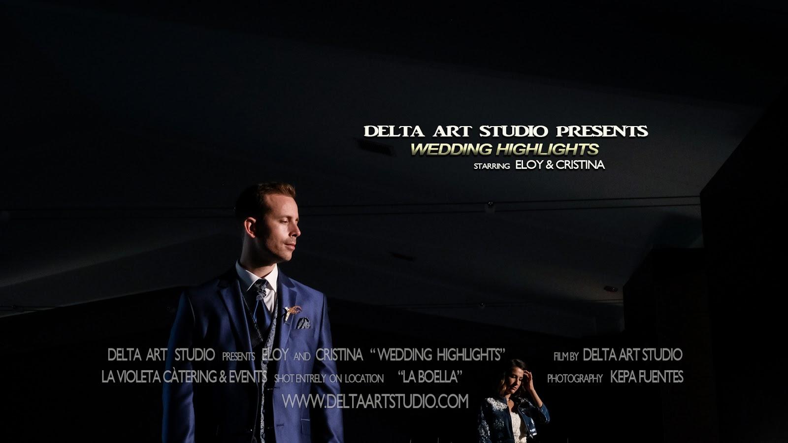 delta art studio blog eloy amp cristina wedding highlights