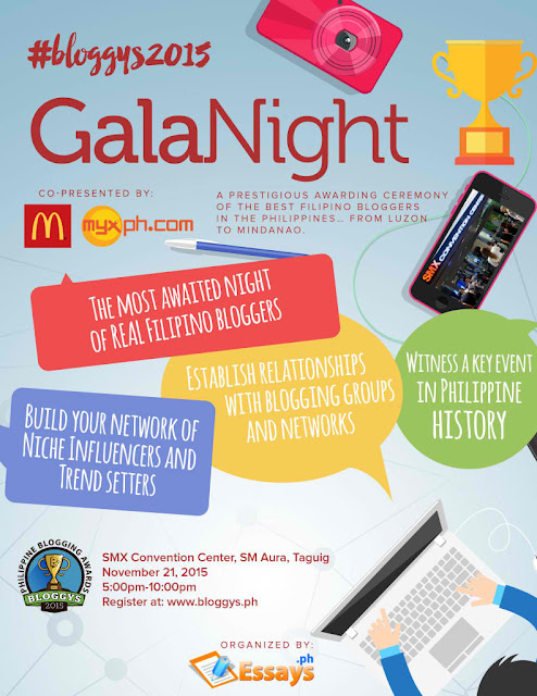 Bloggys 2015 Gala Night