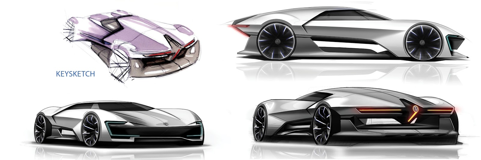 VW GT Ge Is A Company Sponsored Thesis For Sports EV ...