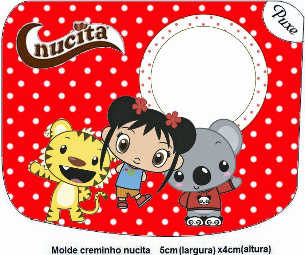 Etiqueta Nucita de Ni Hao Kai Lan para imprimir gratis