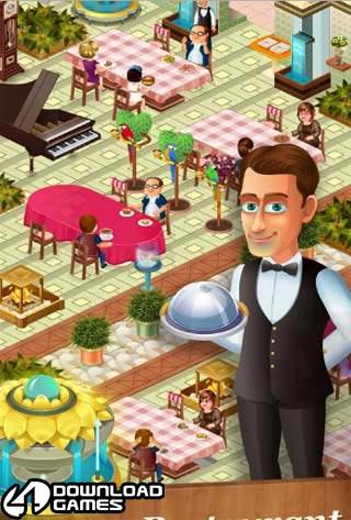 لعبة طبخ وتحضير الطعام Star Chef للموبايل والاجهزة اللوحية الحديثة