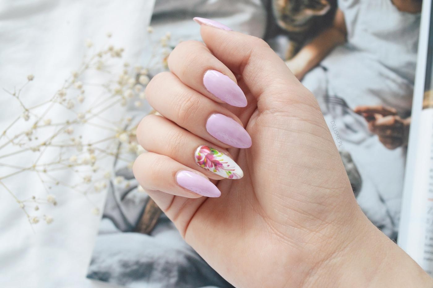 nox nails wrzos manicure hybrydowy blog