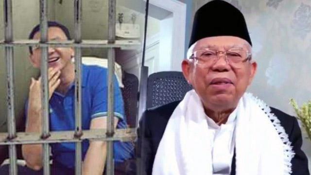Ma'ruf Amin Ngaku Terpaksa Penjarakan Ahok, Ferdinand: Hati-hati dengan Narasi, Pak!