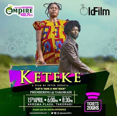 "Lydia Forson And Adjetey Anang (Pusher) Storm Takoradi For ""Keteke"" Movie Premiere"