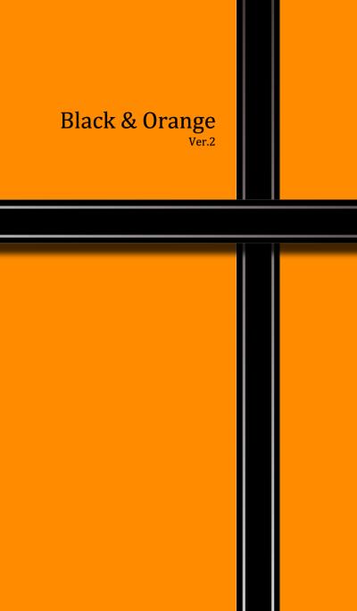 Black & Orange 2