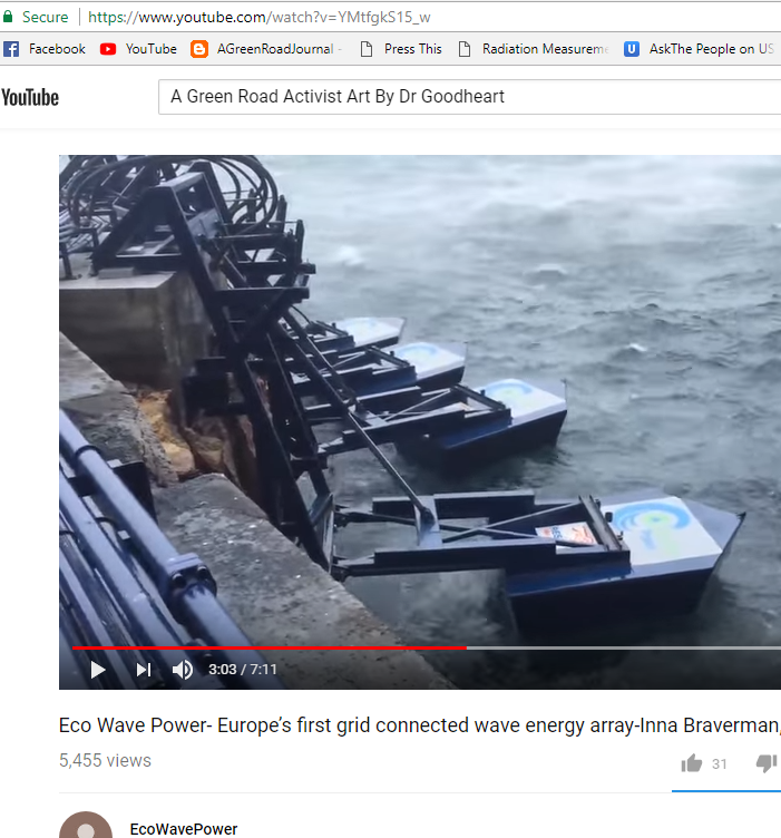 cover letter energy%0A Eco Wave Power Europe u    s first grid connected wave energy arrayInna  Braverman  David Leb