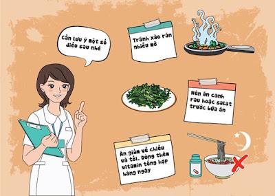 Bệnh viêm phế quản kiêng ăn gì