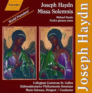 Haydn J - Missa Solemnis & Perfice Gressus Meos