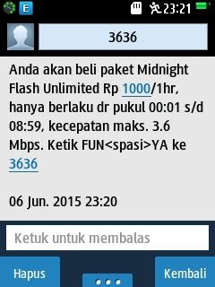 Cara Membeli Paket Midnight 1000 Telkomsel Khusus Kartu AS | Update 7 Juni 2015