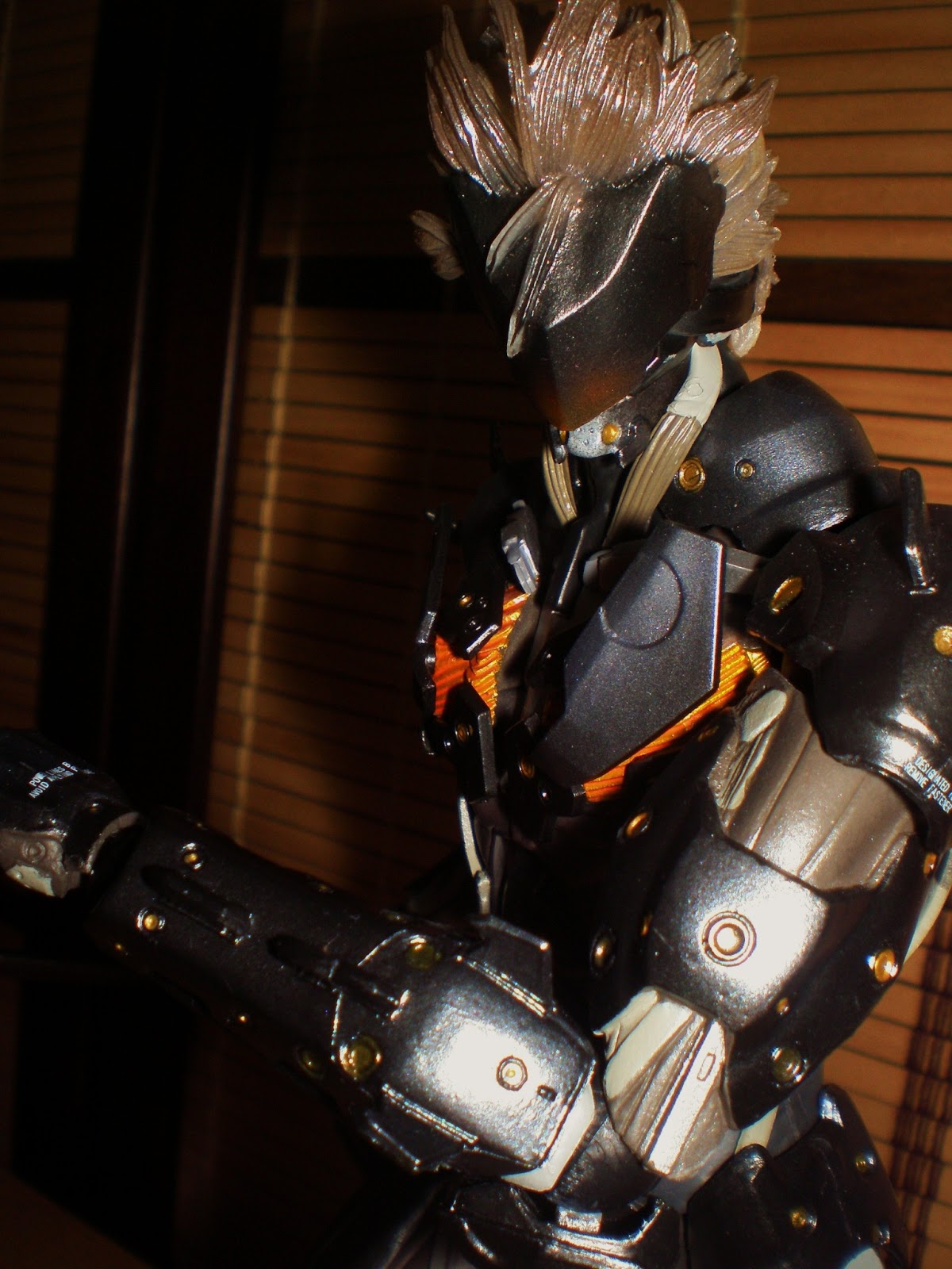 Angels And Summer Play Arts Kai Raiden Metal Gear